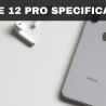 iPHONE 12 PRO SPECIFICATIONS