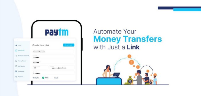 paytm payout links
