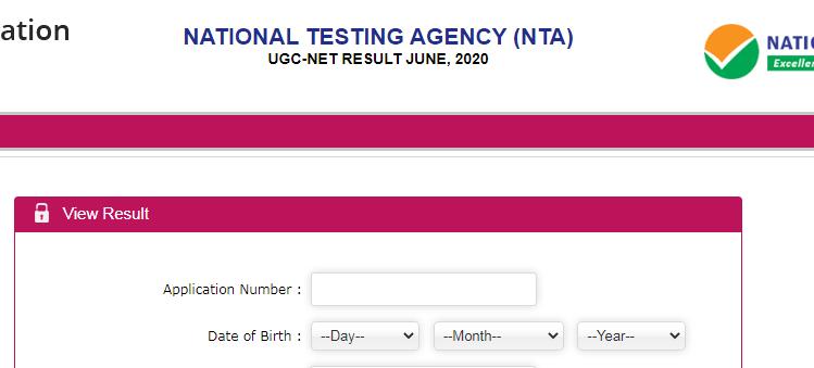 UGC NET Score card