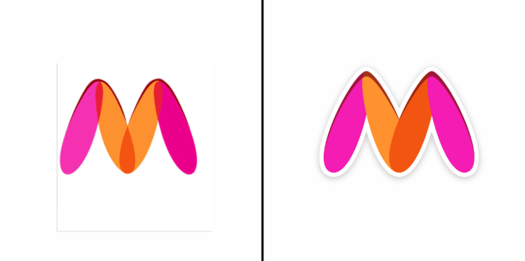 myntra logo change news