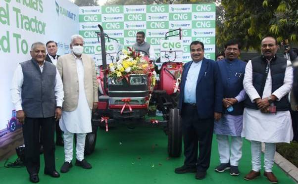 BIO CNG Tractor in India