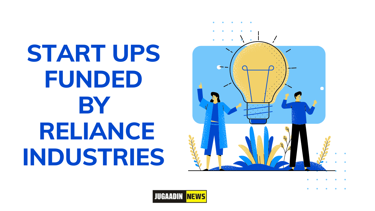 startup funded by Reliance