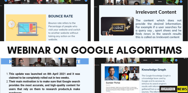 webinar on Google Algorithms (1)