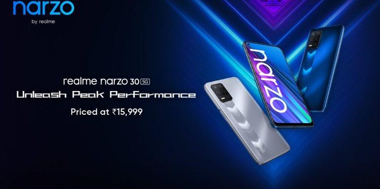 realme narzo 305g launch in India