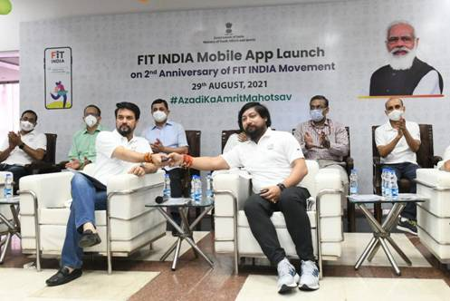 fit india mobile launch