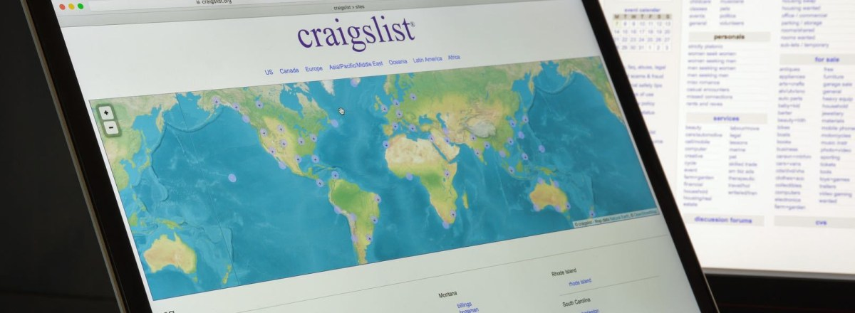 Craigslist Takes Personals Offline After Congress Passes Sex Trafficking Act
