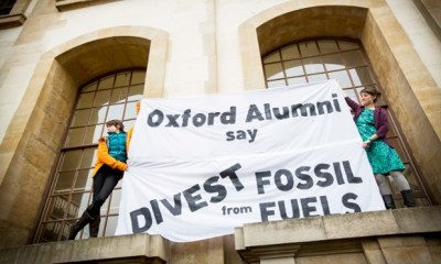 oxford students divestment