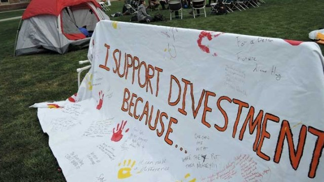 Fossil Fuel Divestment