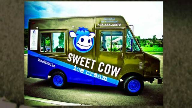 Boulder's Sweet Cow Ice Cream Truck
