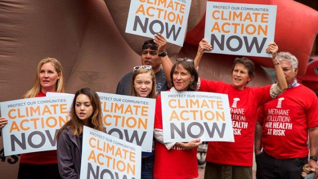 Denver Methane Rally