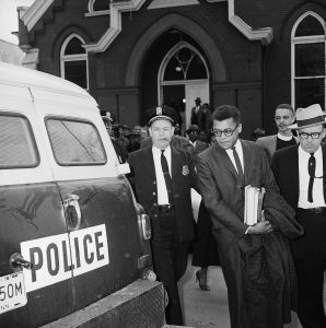 James Lawson arrested in Nashville in 1960