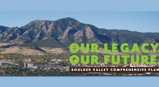Boulder Comprehensive Plan
