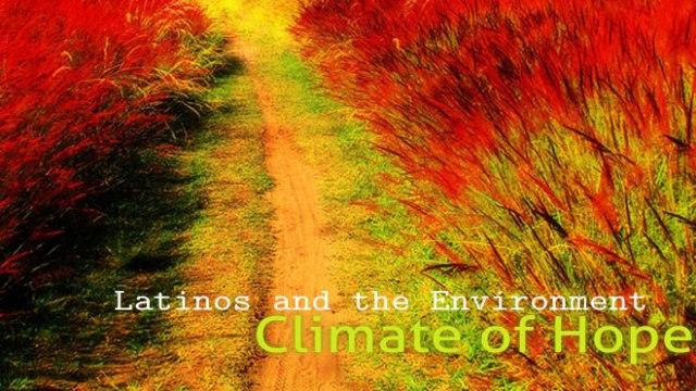 H20 Radio: Latinos and The Environment