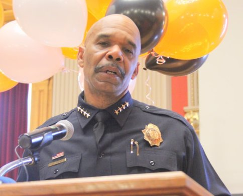 Denver Police Chief Robert White Speaks at the 2014 Human Trafficking Advocacy Day.