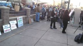 Denver Homeless Rally