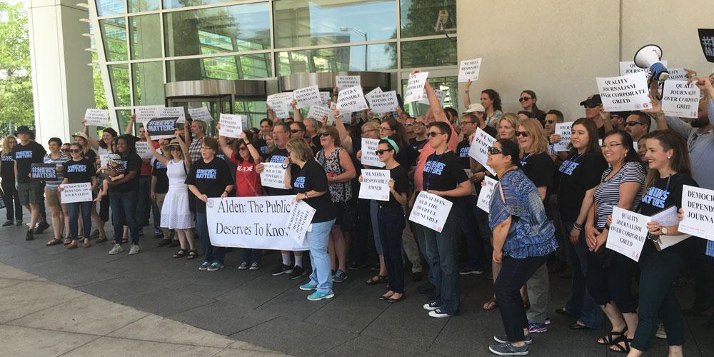 Denver Post Protest