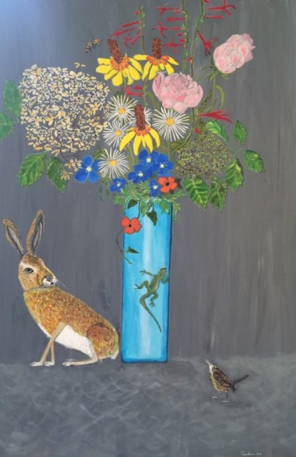 live-still-life_hare-and-flowers-canvas