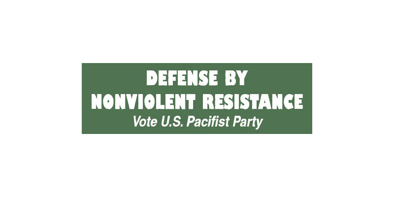 Non Violent Resistance Pacifist Party
