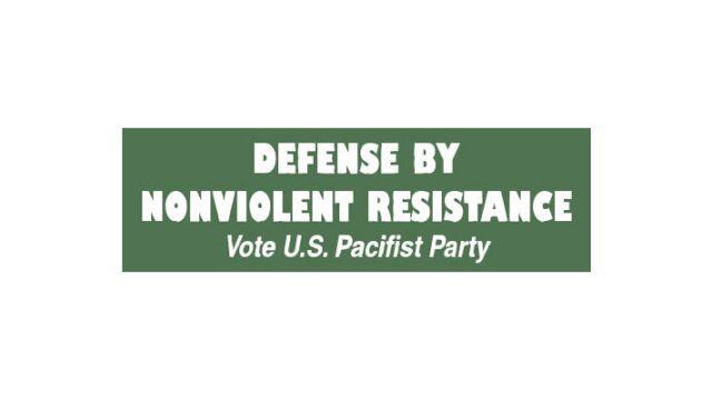 Non Violent Resistance Pacifist Party