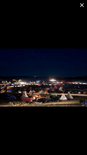 Standing Rock protector camp