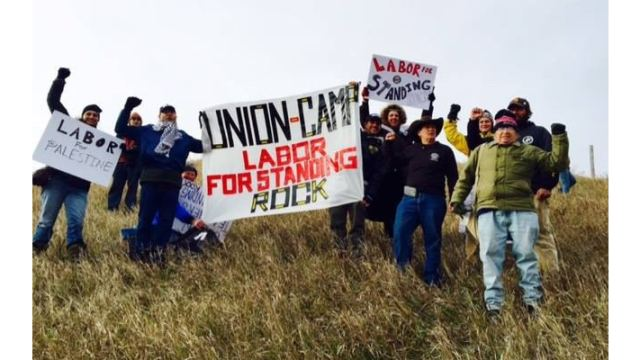 Labor for Standing Rock Protesters