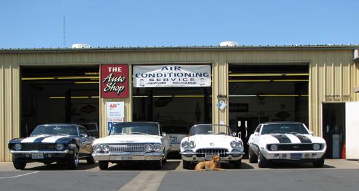 auto shop building