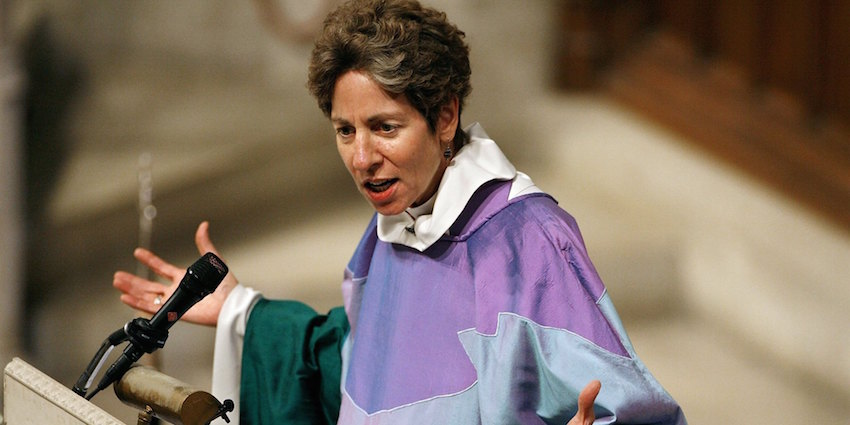 "Episcopal Bishop Says, ""We're All Immigrants"""