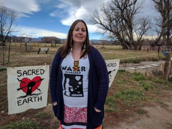 Angela Bibens, attorney at Red Owl Law, Water Protector Legal Collective