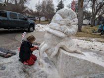 snow scultpture 3