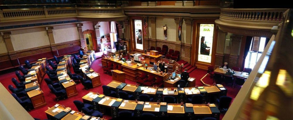 Colorado Capitol Senate Chamber