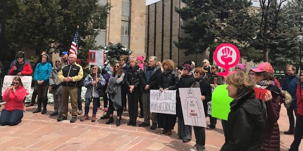 Boulder Joins Nationwide Protests to Stop Abortion Bans