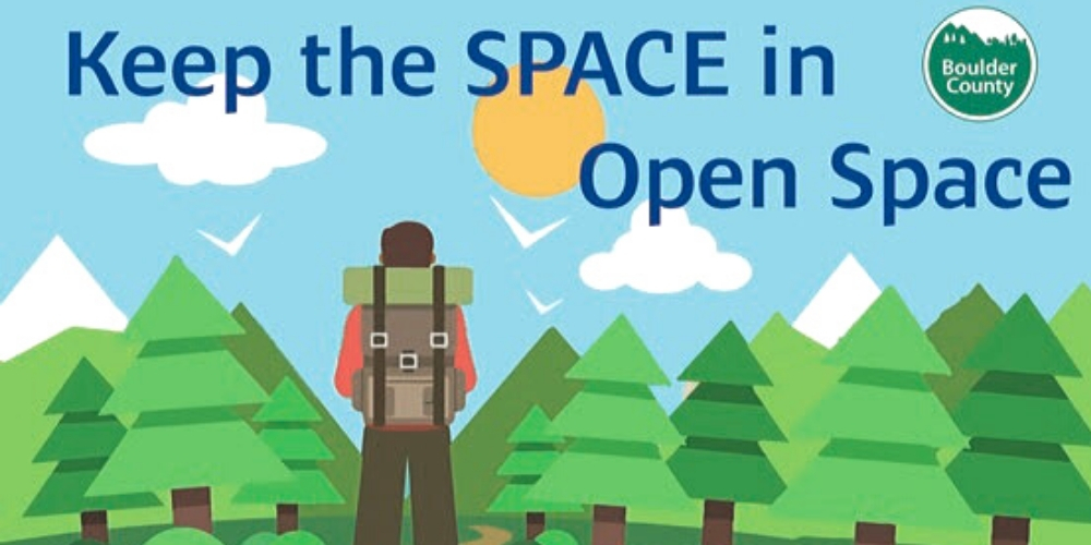 Social Distancing on Open Space