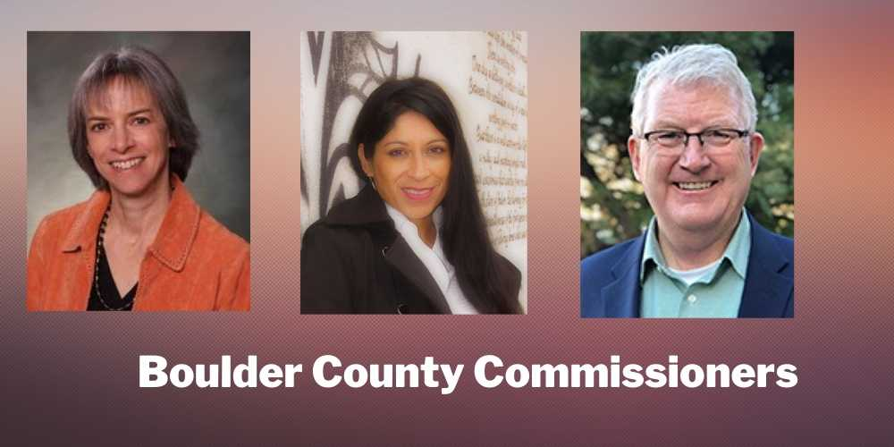 Boulder County Welcomes Two New Commissioners