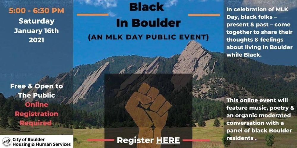 Black in Boulder
