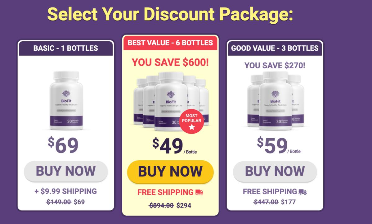 BioFit Price