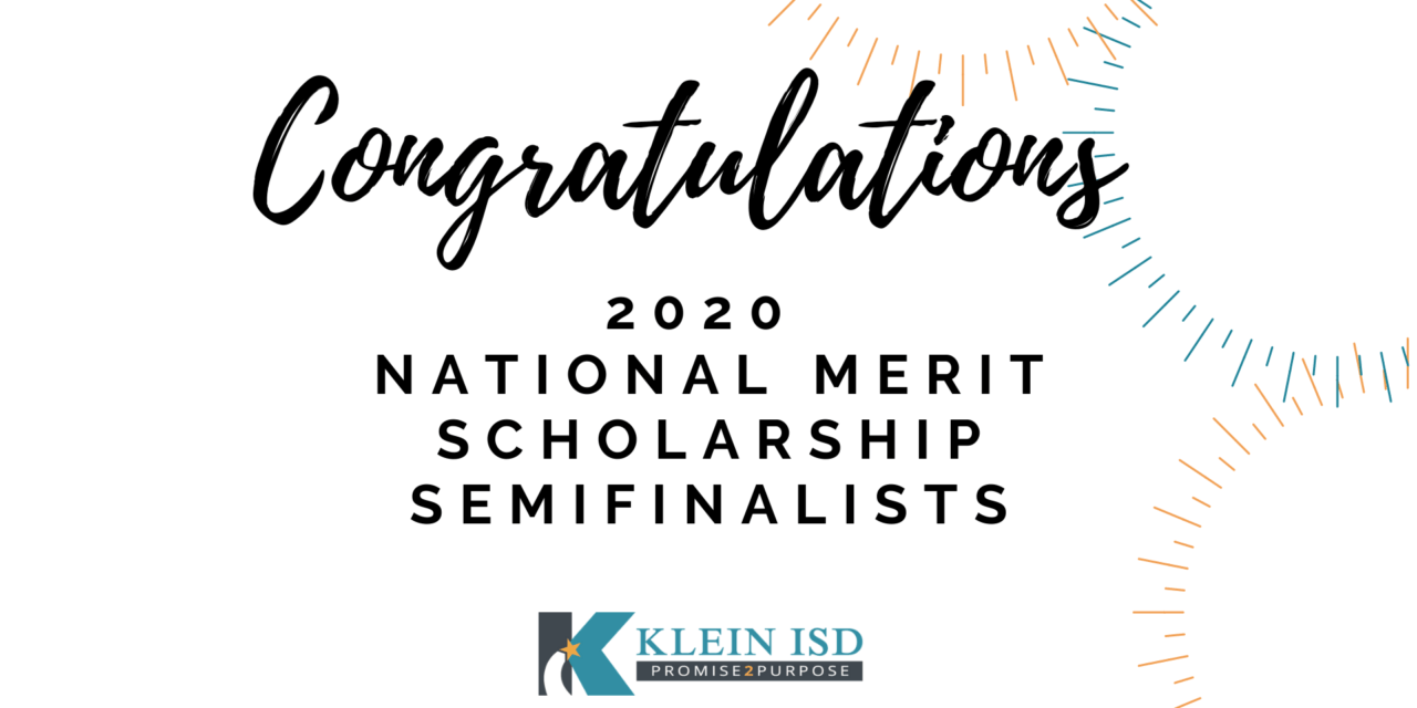 List of 41 Klein ISD Students Named in National Merit