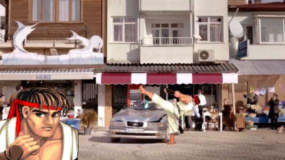 Street Fighter im türkischen Fernsehen