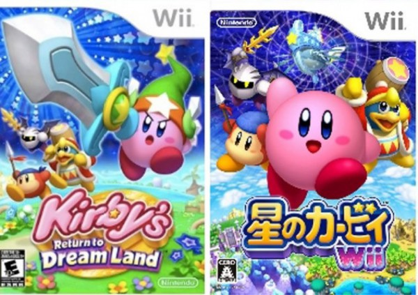 Kirby Japan und USA