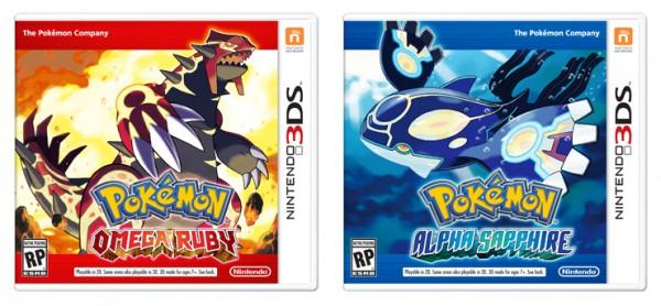 Pokémon Omega Rubin Alpha Saphir