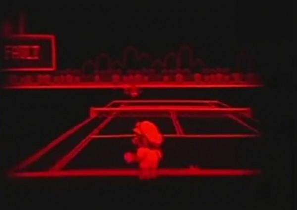 Virtual Boy Mario Tennis
