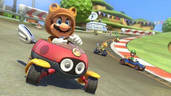 Mario Kart 8 Tanuki-Mario