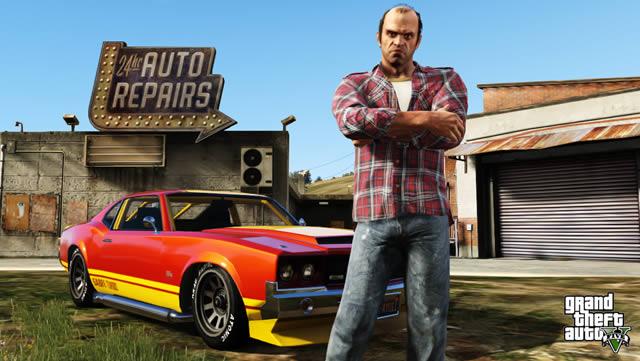 GTA V: Launchtrailer und Vergleich zur PS3