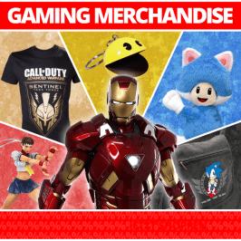 Jetzt neu im Shop: Gaming Merchandise!