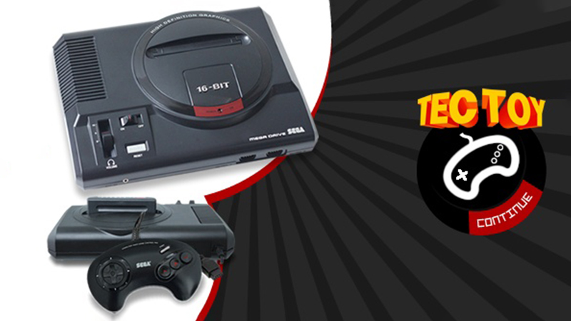 Neue Sega Mega Drive