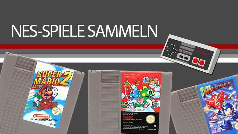 NES-Spiele sammeln