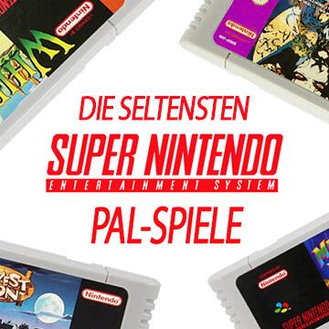 Die Top 5 der seltensten SNES PAL-Spiele!