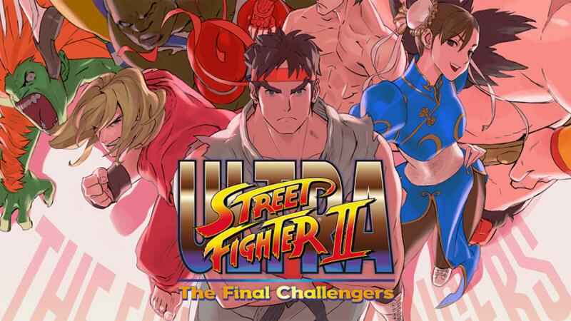 Nintendo Switch Ultra Street Fighter 2