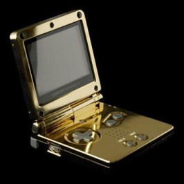 Der 24 Karat Gold GameBoy Advance SP