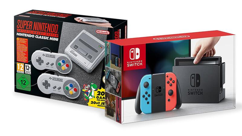 Nintendo Switch SNES Mini