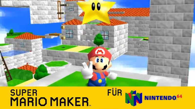 Super Mario Maker 64